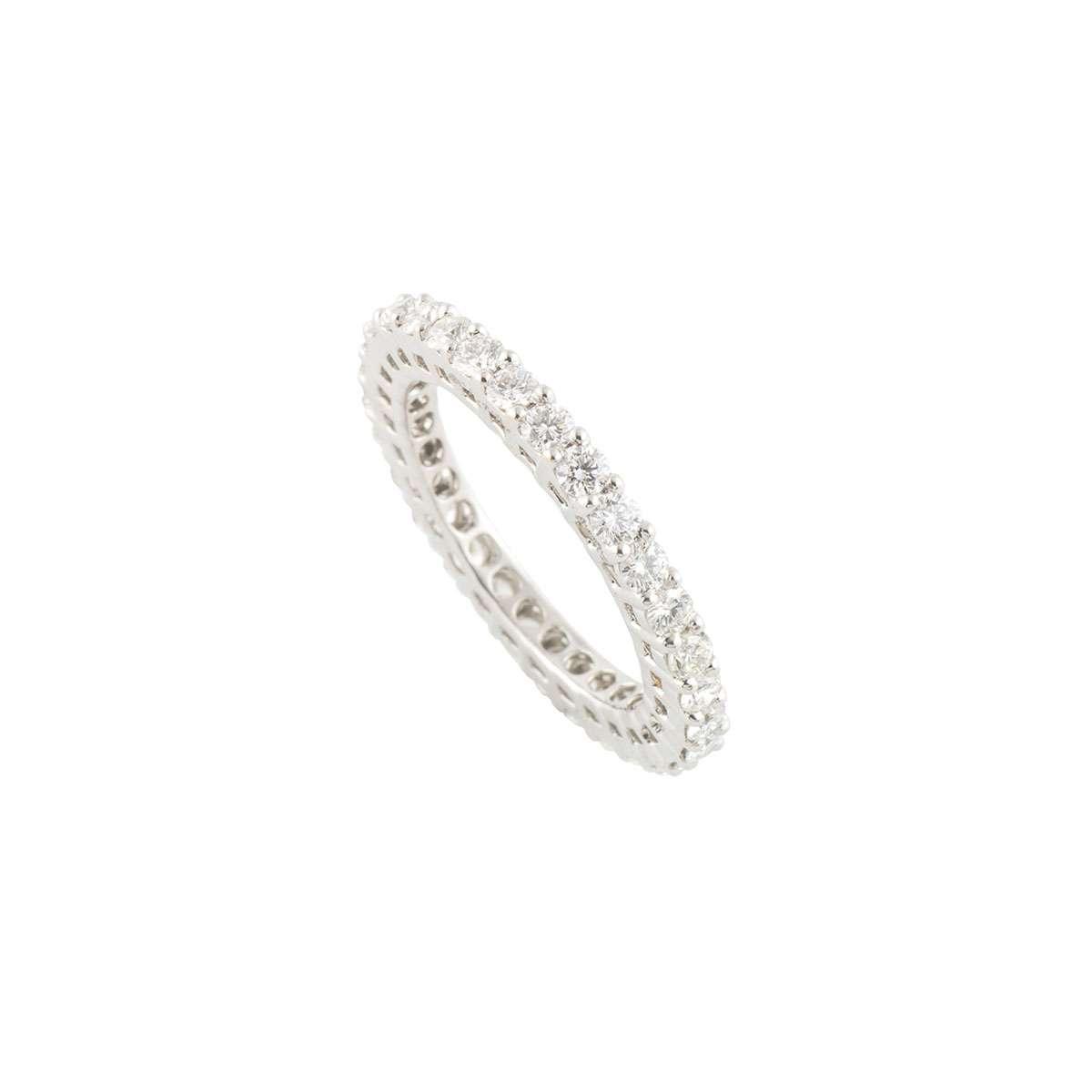 Diamond Eternity Ring 1.32ct G-H/VS